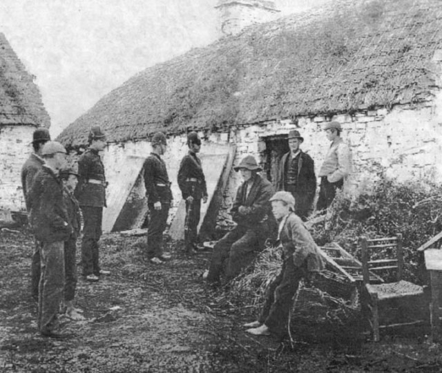Irish Eviction
